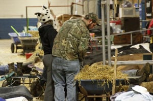 What goes on overnight at the Farm Show?