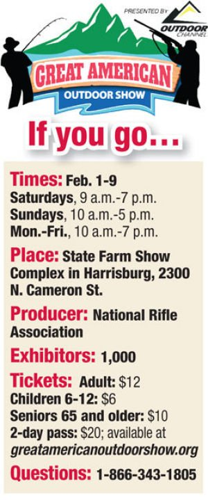 NRA-led Great American Outdoor Show set to debut Feb. 1-9