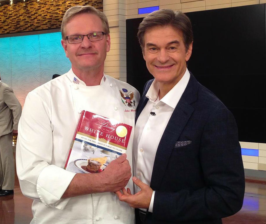 Chef John Moeller and Doctor Oz