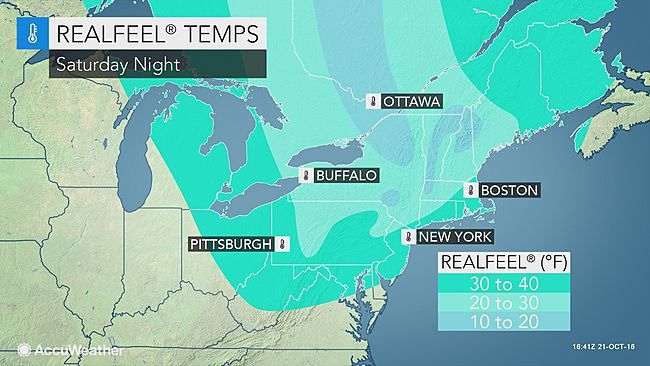 Windy Fall Weather In Forecast For Weekend