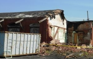Lititz railroad depot coming down