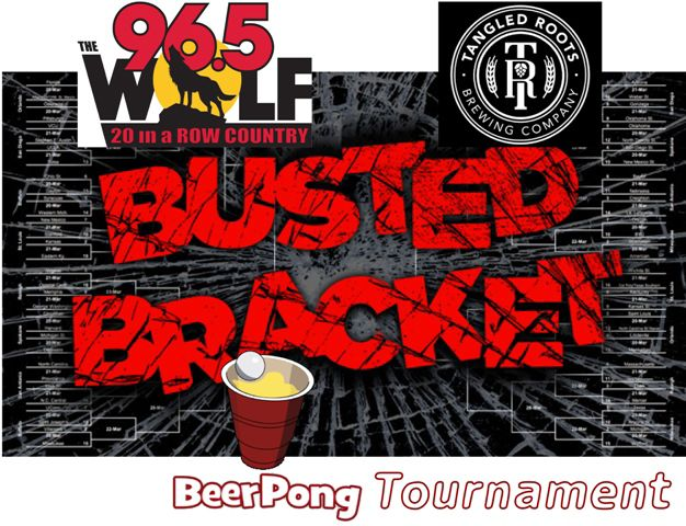 Busted Bracket Pong Tournament
