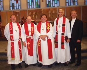 Good Shepherd Lutheran Church pastor installation