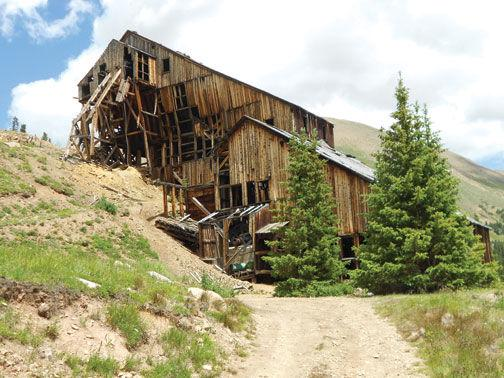 The champion mill and mine today the herald democrat for Dennis mill cabin