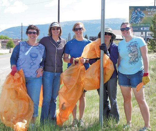 2013 CMC Highway Clean Up Participants