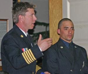 Firefighter of the Year Brandon Drury