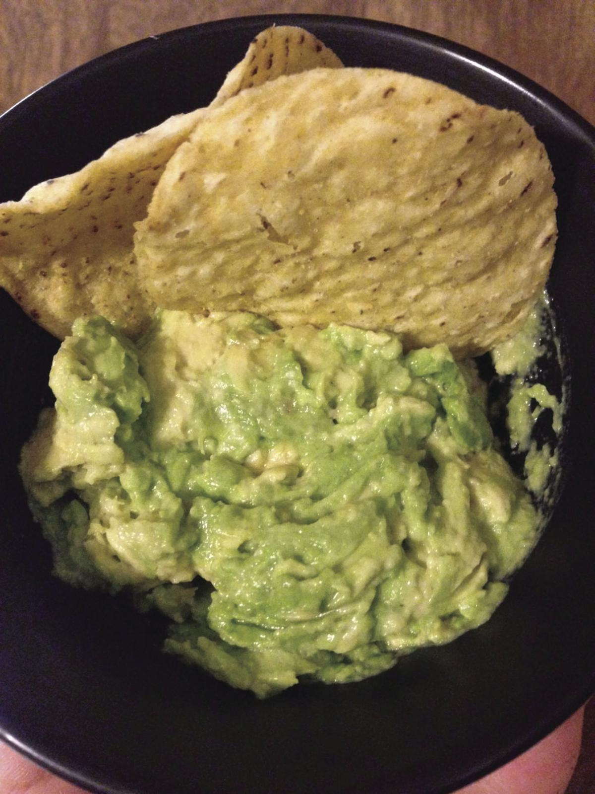 Hometown Cookin... Guacamole And Tortilla Chips Healthy