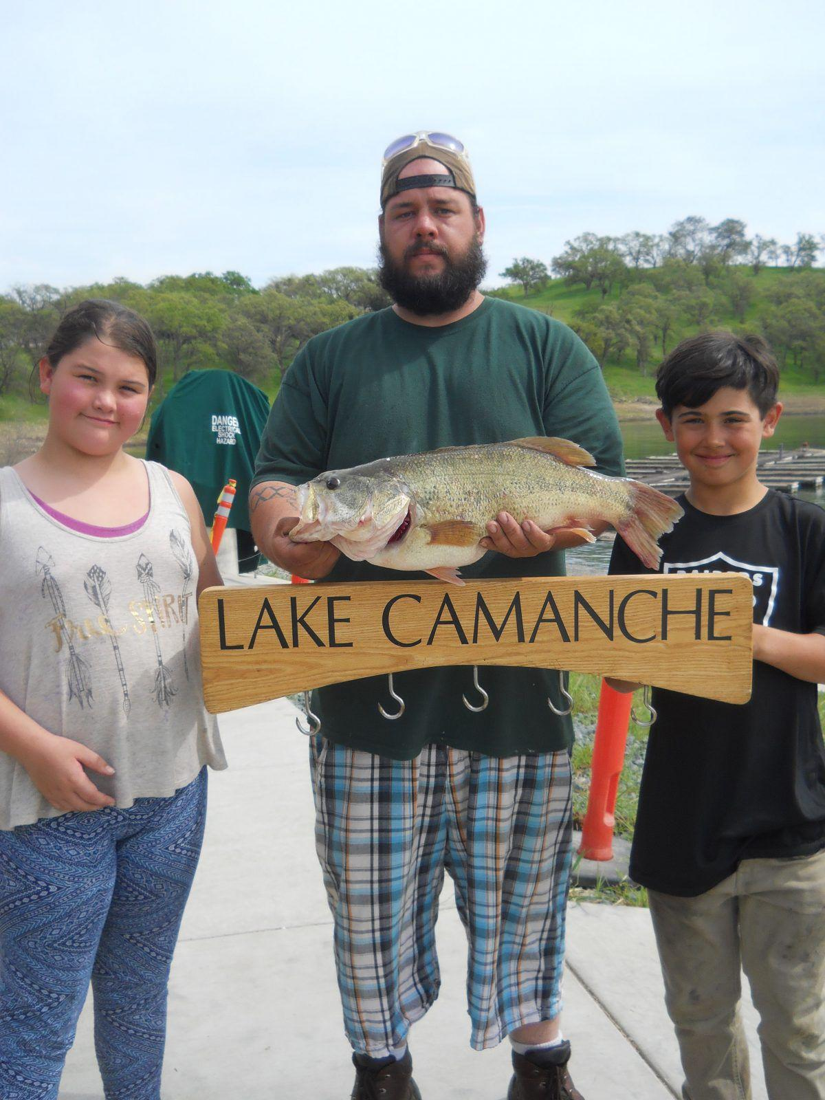 Lake camanche fishing report in the game for Lake camanche fishing