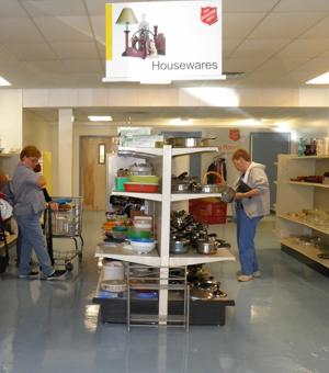 Salvation Army Thrift Store Opens