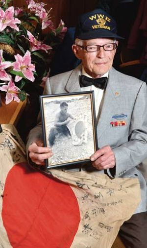 A Bronze Star for his golden years