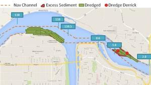 Dredging in L-C Valley should wrap up by end of month