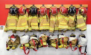 A fire station  celebration