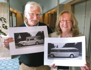 Brother and sister hope to restore 'Godmobile'
