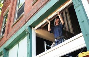 Downtown Lewiston renovation