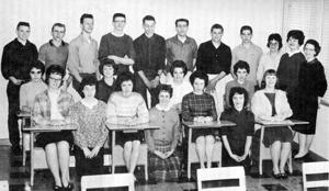 Blast from the past: 1963 -- Highland's pioneer seniors
