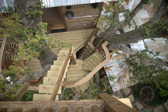 Raising cane s owner reflects on his new treehouse the daily