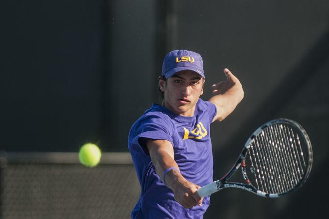 LSU men's tennis heads to Lafayette for season opener in ...