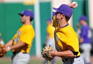LSU baseball practice