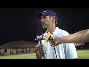 LSU Soccer defeats NSU: Brian Lee Postgame