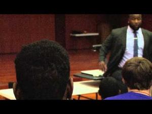 Marcus Spears speaks to LSU Football Freshman