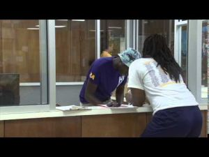 LSU Move In Day