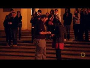 Raw: Guy Proposes to Girlfriend at LSU Clock Tower - The Funyon