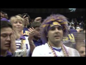 LSU coach Johnny Jones talks win against South Carolina