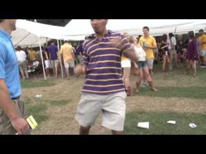 LSU fans give would-be touchdown celebrations
