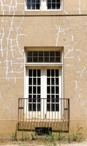 Cracked Buildings