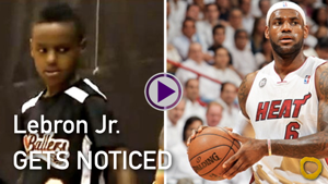 LeBron James Jr. Gets Noticed by Colleges - The Funyon