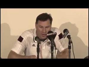 Dan Mullen reacts to 34-29 win vs. LSU