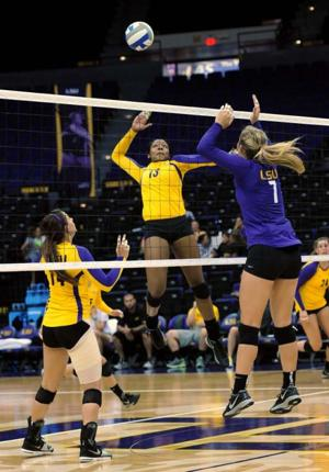Volleyball, Purple & Gold Scrimmage, 08/24/2013