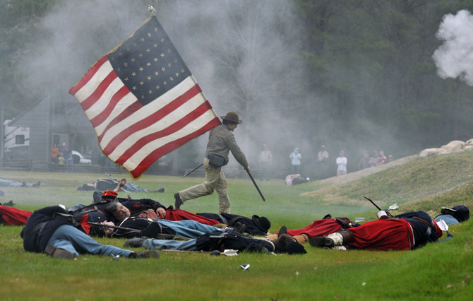 Port Hudson holds Civil War re-enactment over the weekend