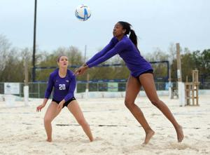 Sand Volleyball vs. Tulane, March 26, 2014