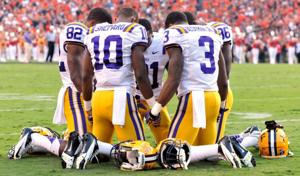 LSU Football wide receivers