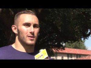 LSU Basketball: Interview with Keith Hornsby at Move-in Day