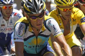 Lance Armstrong, Rinaldo Nocentini