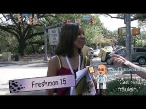 The Funyon Talks to the New Freshman Class