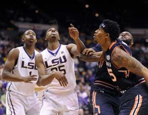 02/05/15 LSU Men's Basketball vs. Auburn