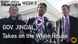 "Bobby Jindal calls Obama ""Unfit"" for America - Bobby Jindal Tracker"