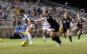 LSU soccer vrs. Troy