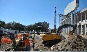 South Stadium construction