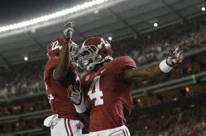 T.J. Yeldon, Christion Jones