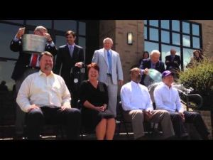 LSU Chancellor F. King Alexander Takes the Ice Bucket Challenge