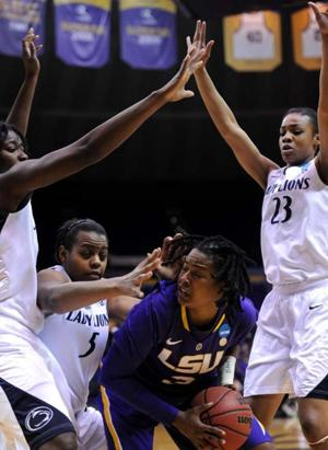 Women's Basketball, LSU vs. Penn State, March 26, 2013