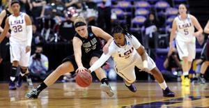 Women's Basketball, LSU vs. Green Bay