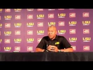 LSU basketball coach Johnny Jones gives his thoughts on the Tigers' performance in Australia
