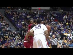 LSU Basketball vs. Texas Tech Raw Highlights 11/18/14