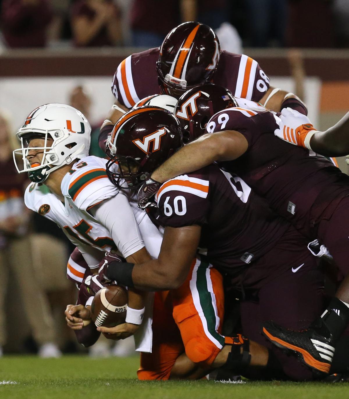 ... football: Miami at Virginia Tech | ACC | martinsvillebulletin.com
