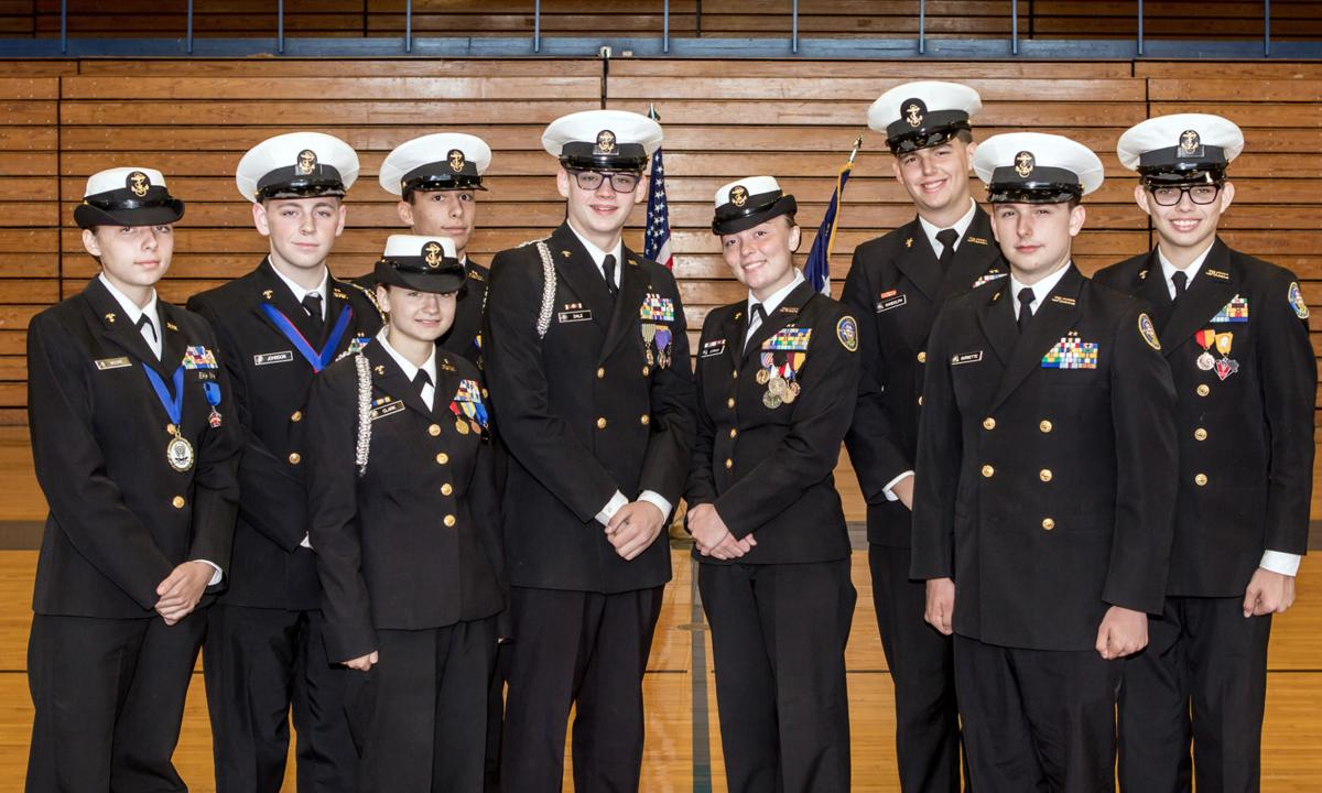 A DISTINGUISHED UNIT: NJROTC closes successful year with awards, promotions